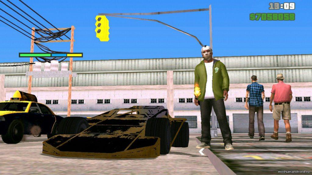 Рампа из GTA online с текстурами (можно и без)