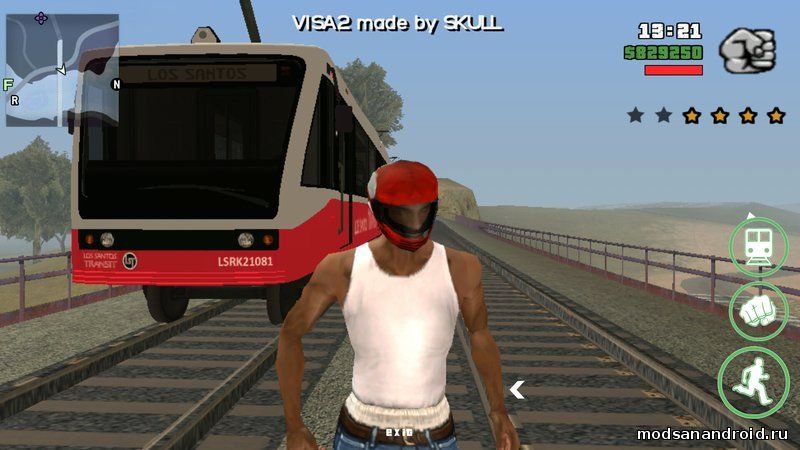 GTA 5 поезд