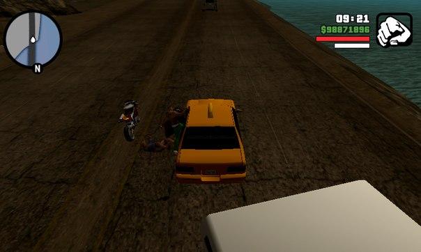 Перепоыгнуть на машину