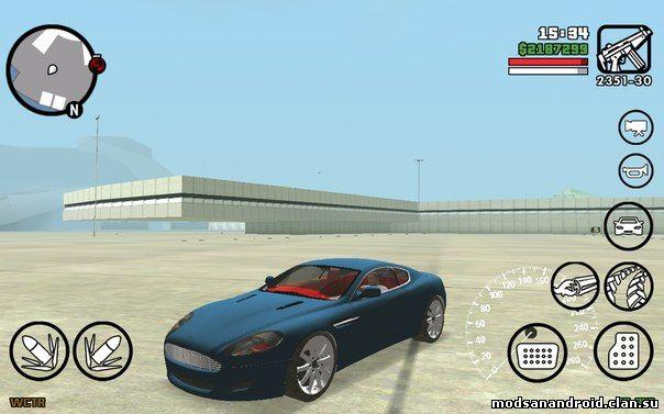 Установка машин в GTA SA ANDROID и IOS
