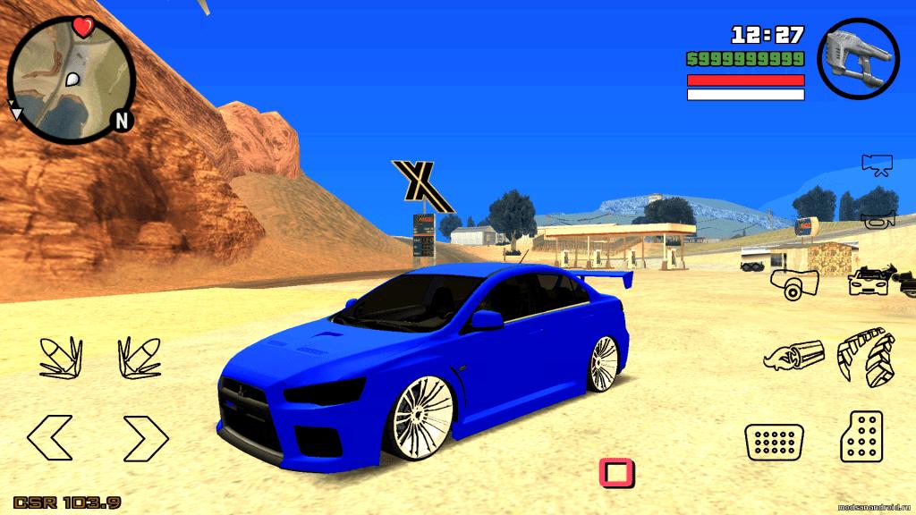 Mitsubishi Lancer Evolution X tuned