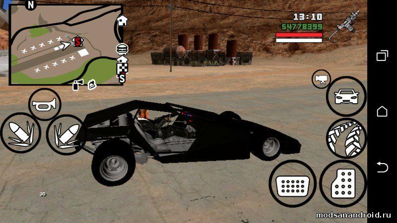 BUGGY из GTA Online (без текстур)