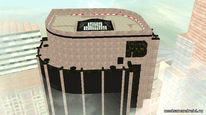 GTA V здание FIB (onlyDFF)