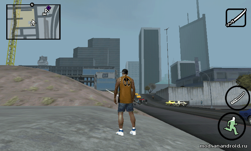Мини карта из GTA V