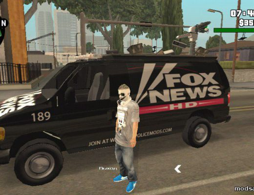 Ford E150 - Fox 11 News Van